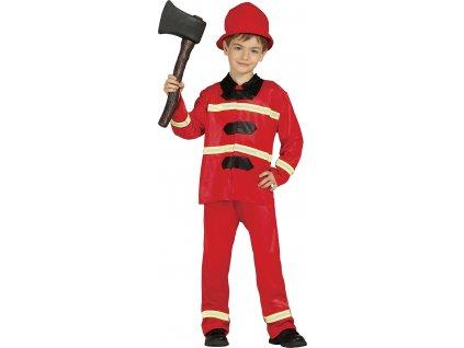 Kostým hasiča - detský (Veľkosti 10-12 rokov (výška 142-148cm))