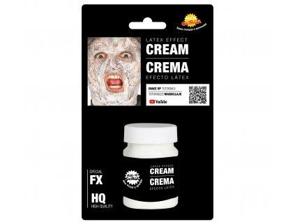 Cremă latex pentru faţă - alb 30 ml