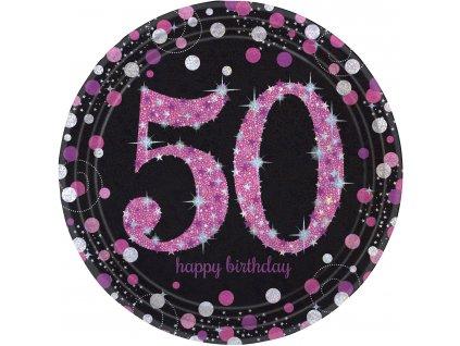 33965 taniere 50 narodeniny trblietava ruzova