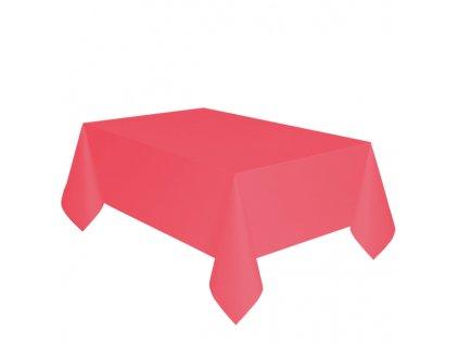 Faţă de masă roşie 137 x 274 cm