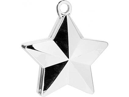 Greutate pentru baloane Stea argintie