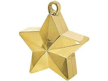 Greutate pentru baloane STEA auriu