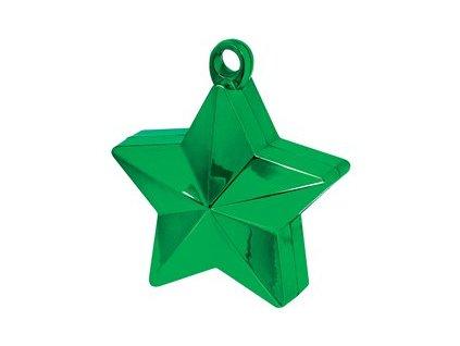 Greutate pentru baloane Stea verde