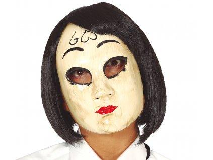Mască - Femeie din China cu inimioară (Purificatorul)