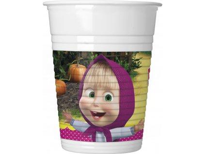 MASHA & THE BEAR PLASTIC CUP ICON