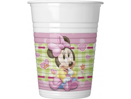Pahare Minnie Mouse - Baby 8 buc
