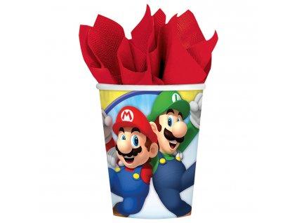 Pahare Super Mario 8 buc