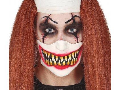 Jumătate de mască - Clown