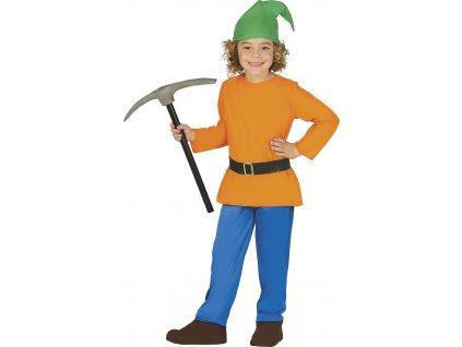 Detský kostým - Lesný trpaslík (Mărimea - Copii S)