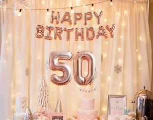 50. narodeniny
