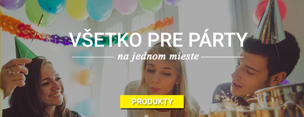 Párty produkty