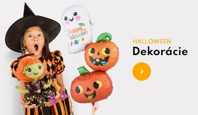 Halloweenske dekorácie