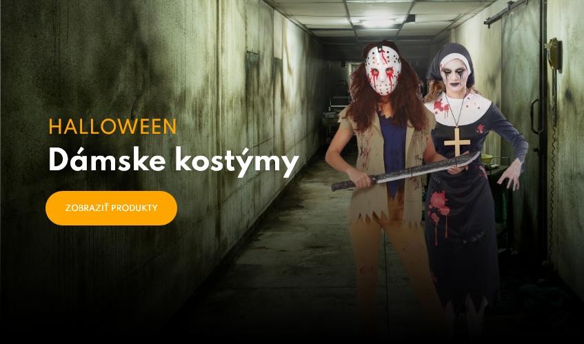 Dámske halloweenske kostýmy