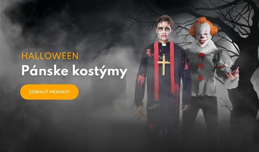 Pánske halloweenske kostýmy