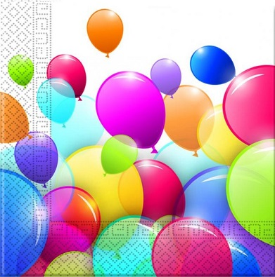 Oslava - balónová