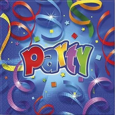 Párty - konfetová
