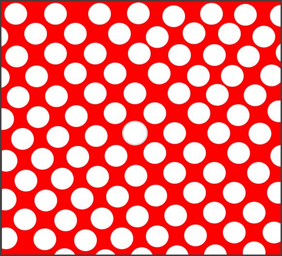 Červená bodkovaná