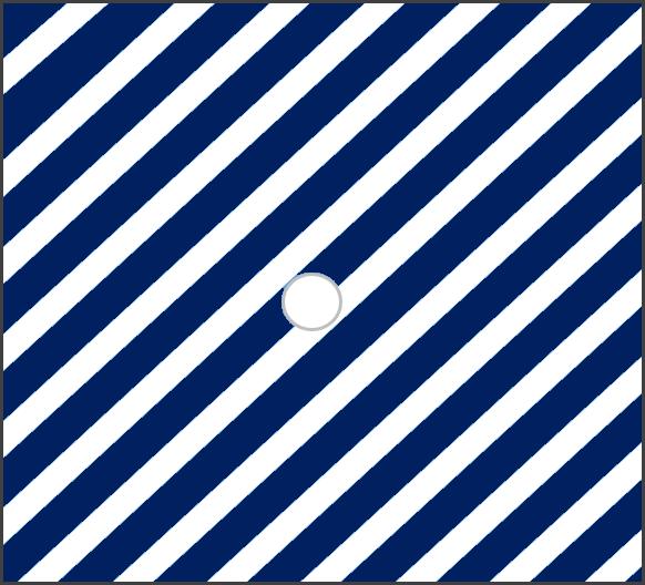 Modrá pruhovaná