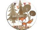 Oslava v štýle Woodland - Párty výzdoba