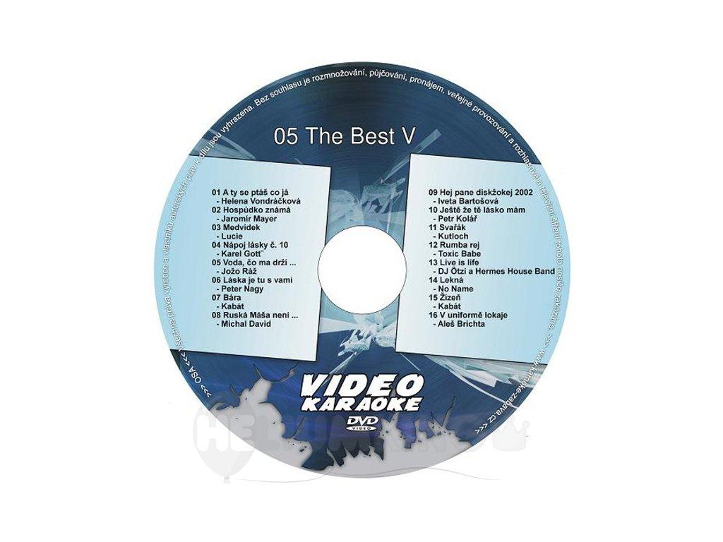 The Best V DVD kompilácia
