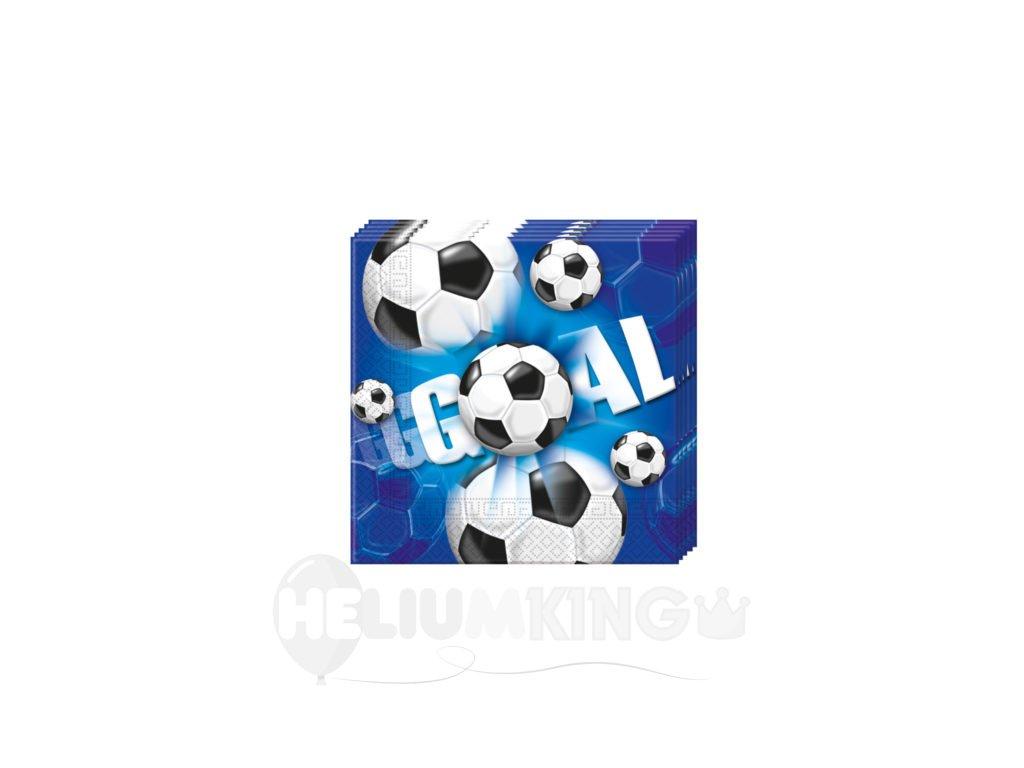 Servitky futbal modre