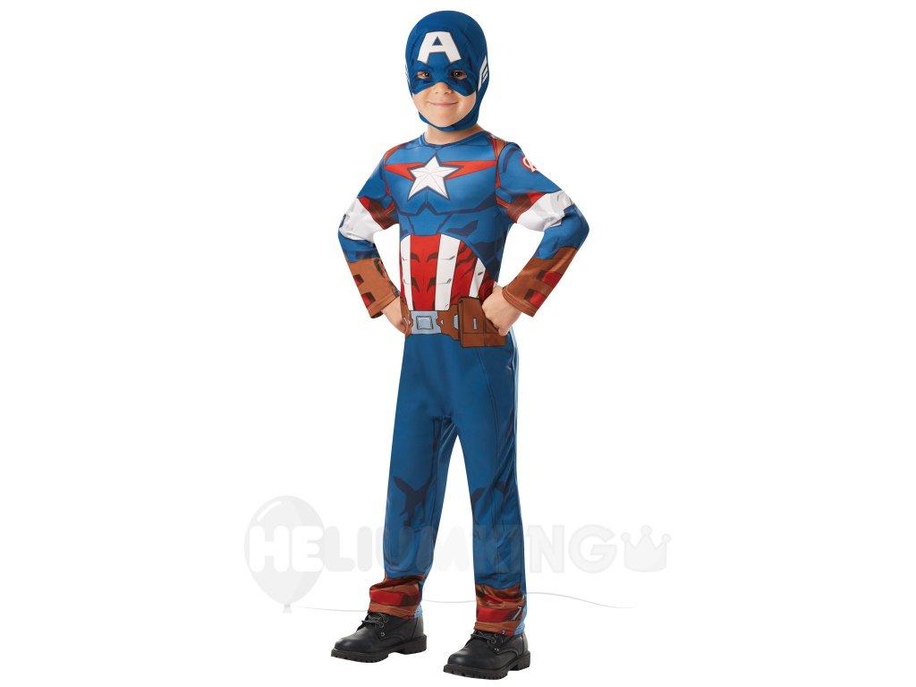 Kostým Captain America detský