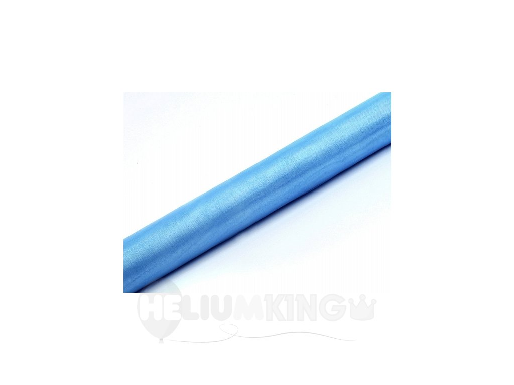 Organza nebeská modrá 36cm x 9m