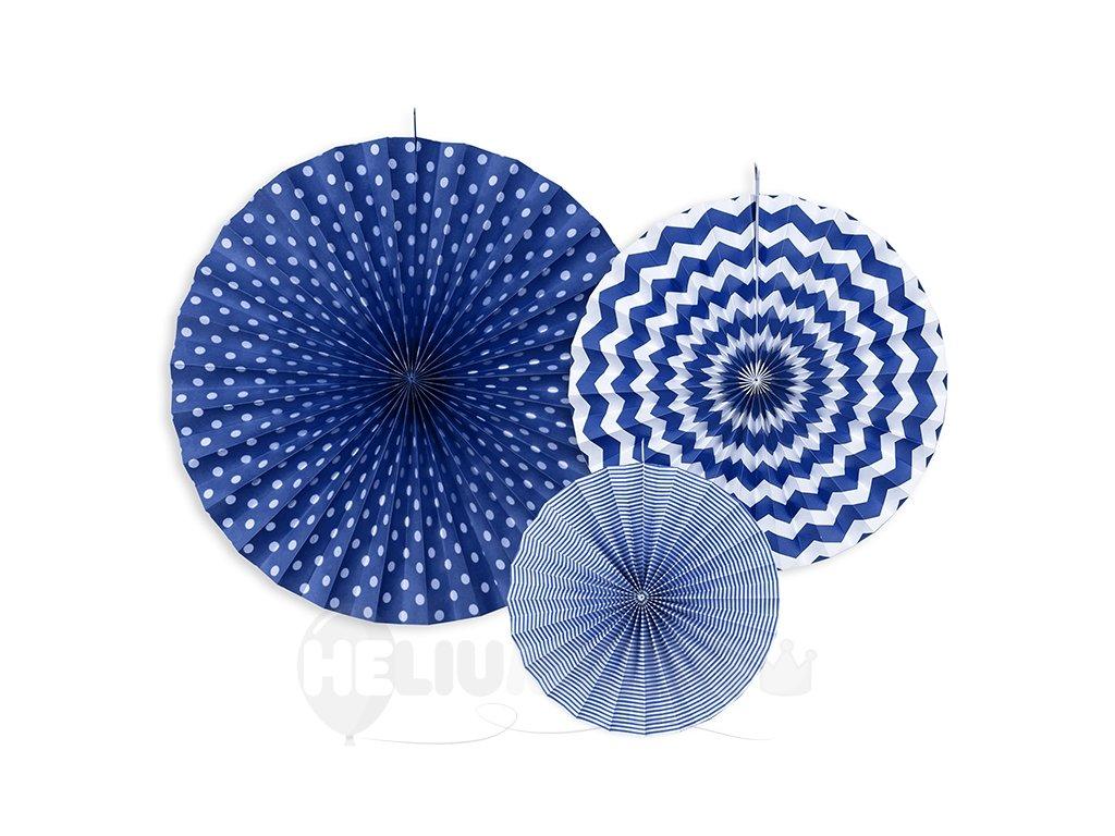 dekoracne rozety modre