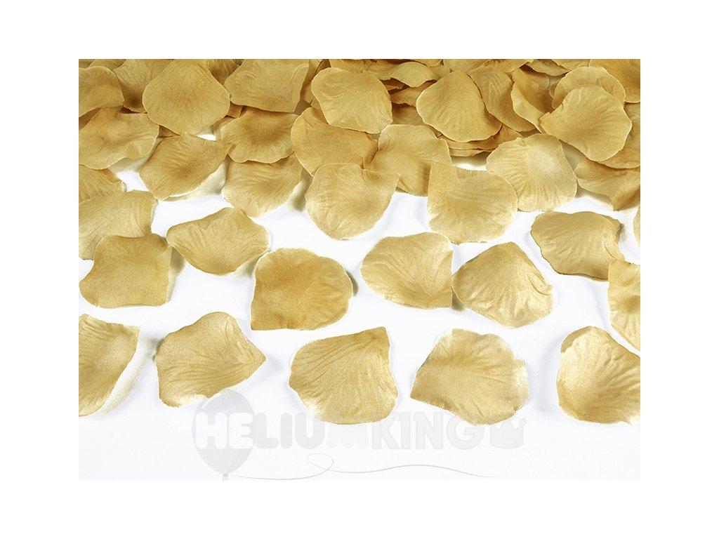 Lupene ruží zlaté 100 ks