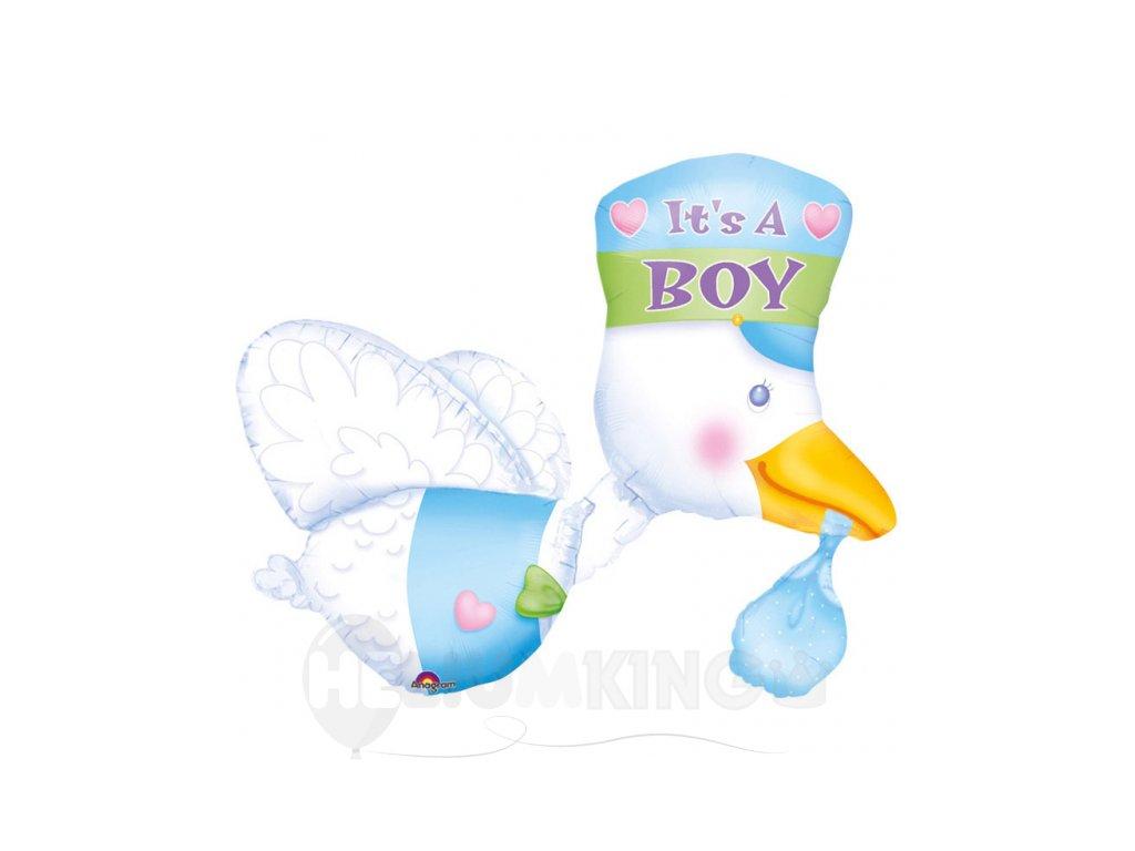Foliovy balon je to chlapec