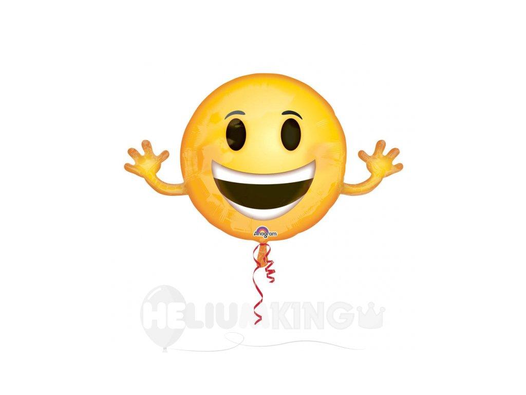 Foliovy balon smajlik