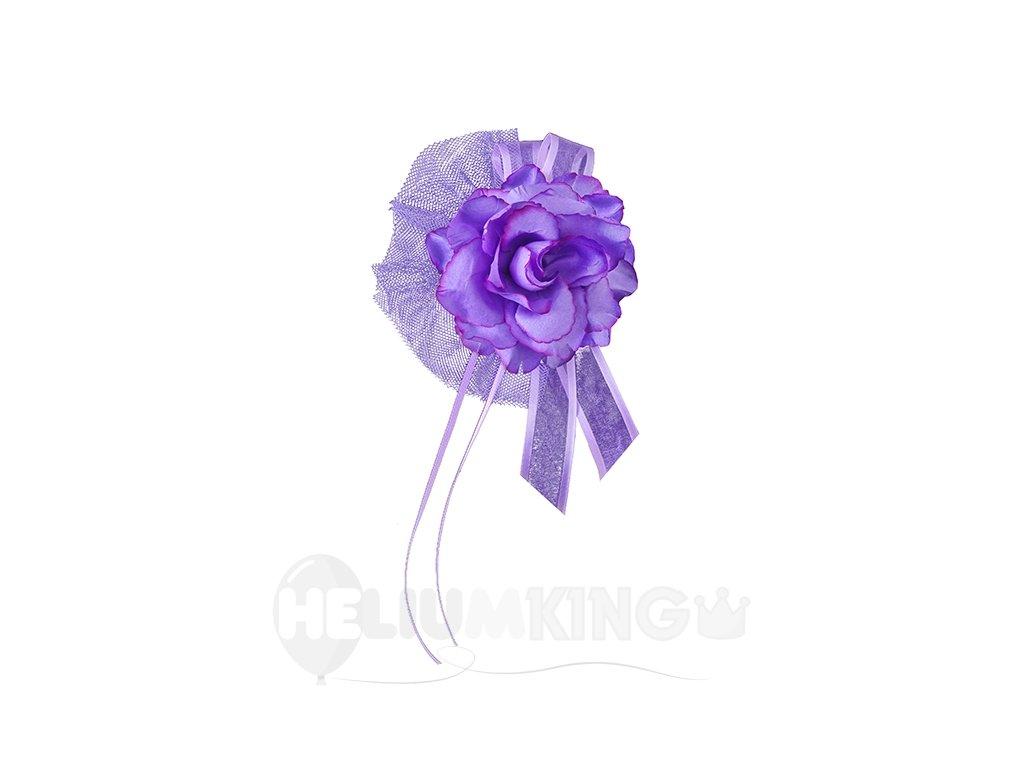 Dekoračna ruza fialova