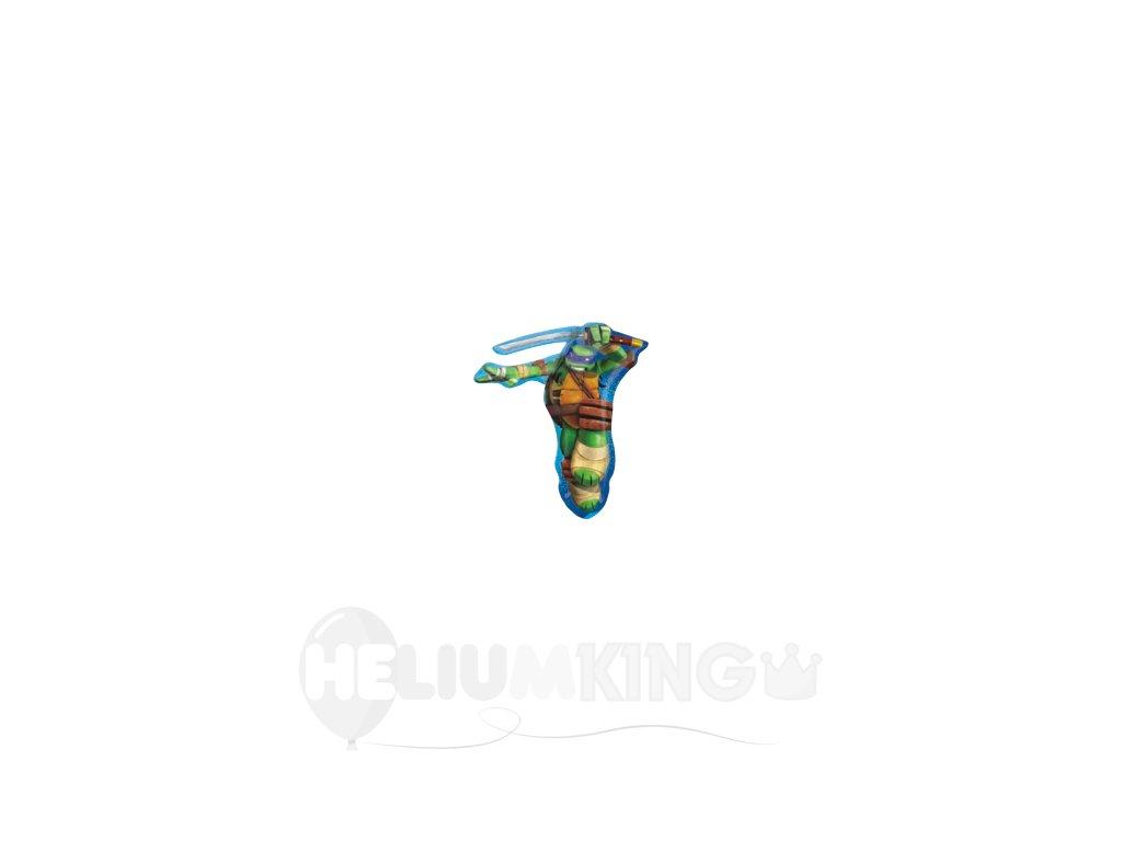 Fóliový balón Ninja korytnačka