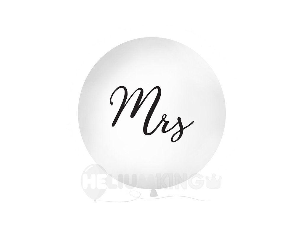 Metrovy balon Mrs