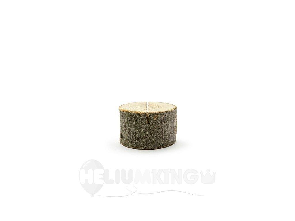 Drziak na menovky dreveny