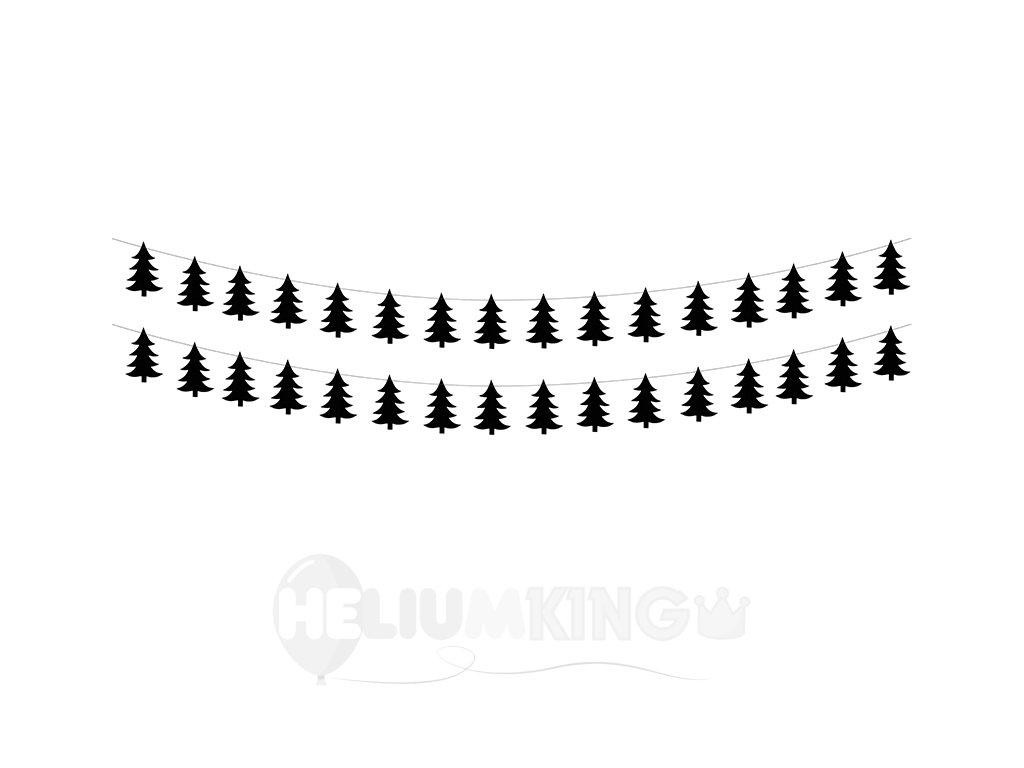 Girlanda vianocne stromceky