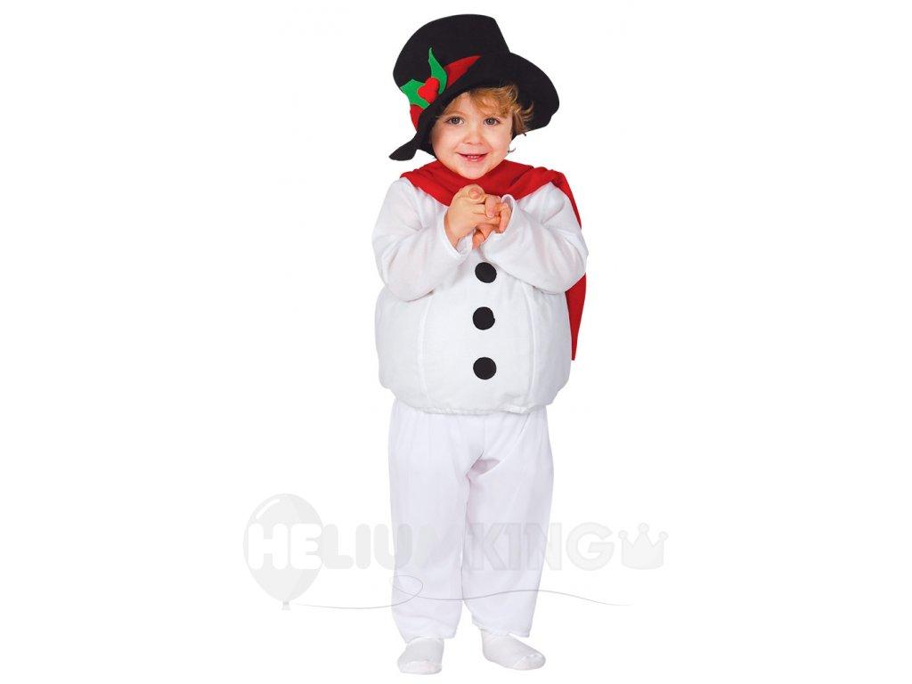 Kostym maly snehuliak