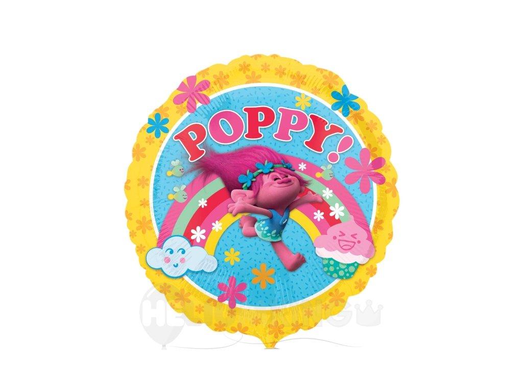 Foliovy balon Poppy trollovai