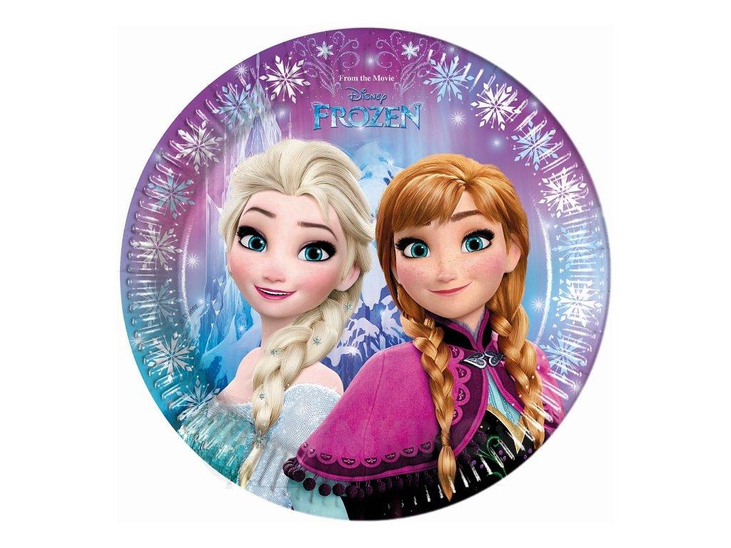 Taniere v štýle Frozen 8 ks