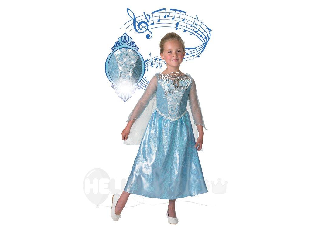 Detský kostým Elza - svieti a hrá - HeliumKing.sk 55ffb5c0587