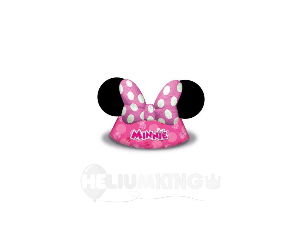 bdb222f68 Party klobúčiky Minnie 6 ks - HeliumKing.sk