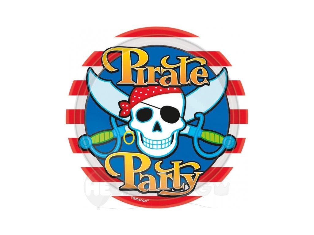 Taniere Pirátska oslava 8 ks