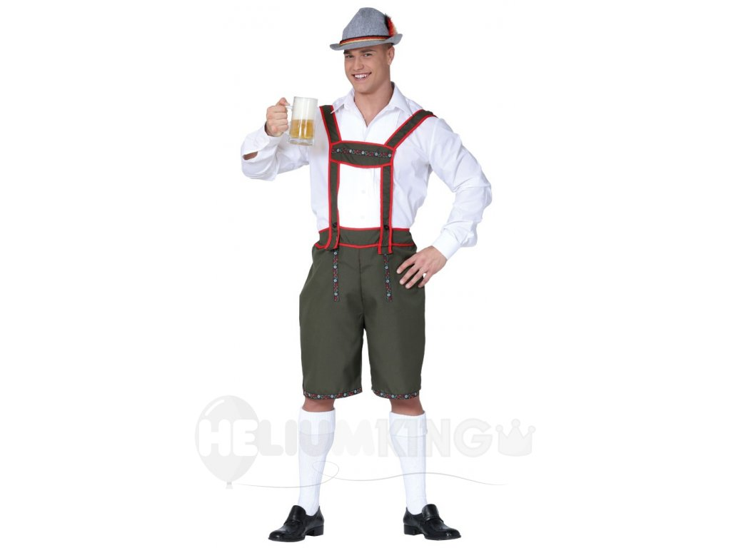 Kostym tirolského muža