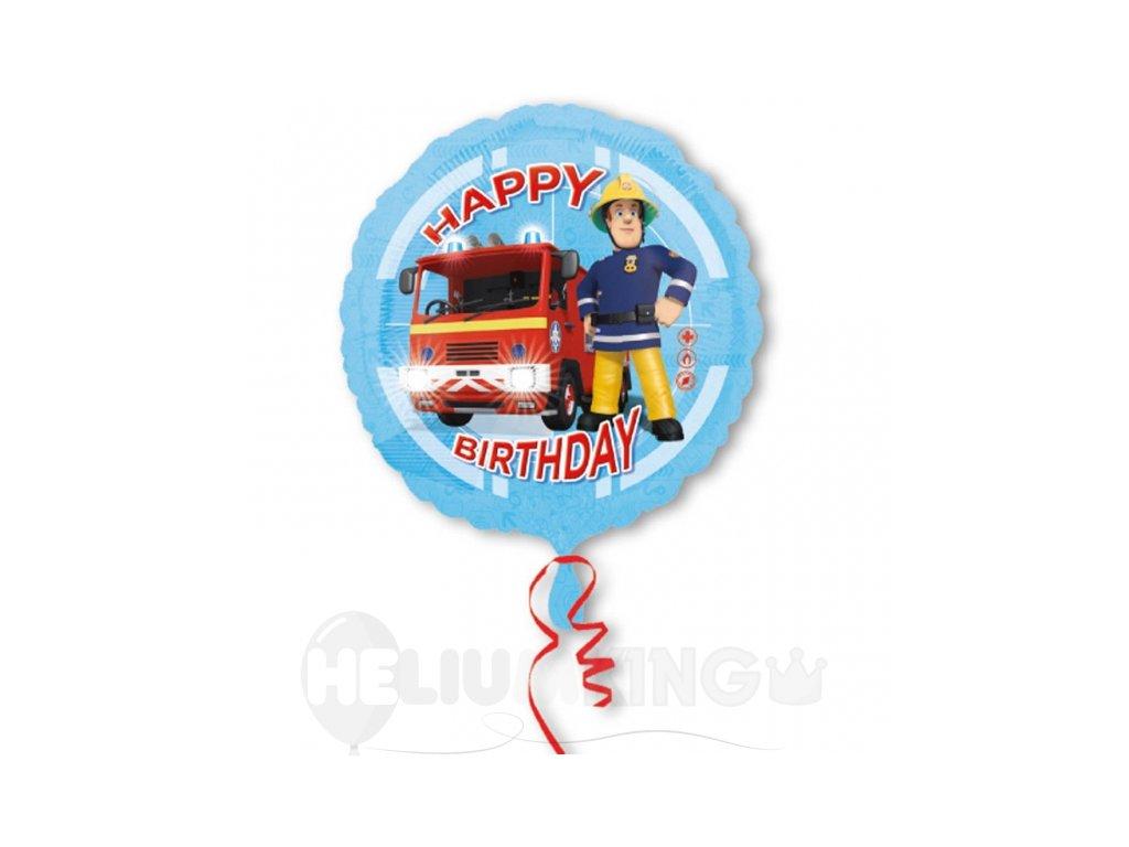 Fóliový balón Požiarnik Sam 43 cm