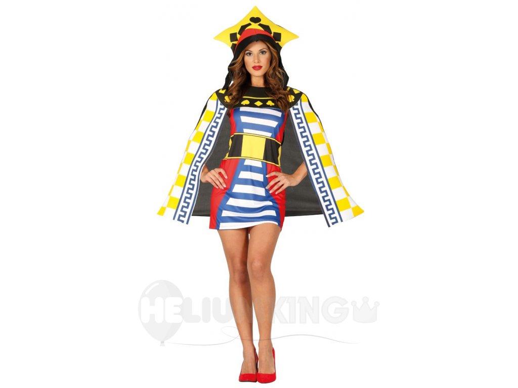 Dámsky kostým Kráľovná - Game of cards - HeliumKing.sk 94344d18835
