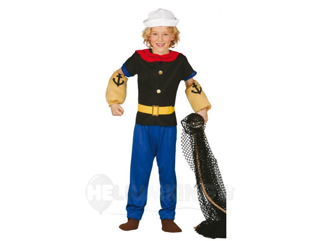 Kostým Pepek námorník - detský (Veľkosti 10-12 rokov (výška 142-148cm))