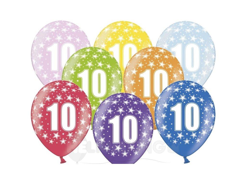Lacny balon cislo 10