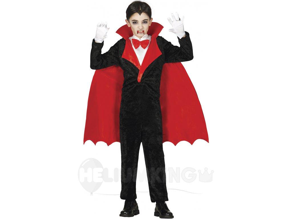 Detský kostým Upíra (Veľkosti 10-12 rokov (výška 142-148cm))