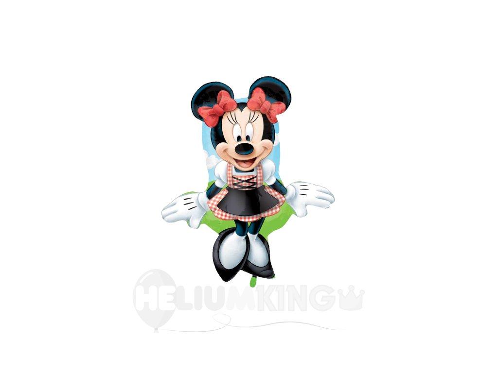 Fóliový balón Minnie postava