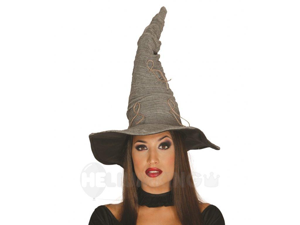 60bc08c18 Čarodejnícky klobúk sivý - HeliumKing.sk